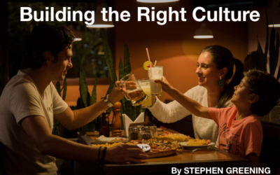 Building the Right Culture