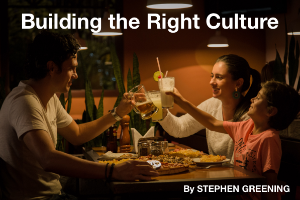 Building the Right Culture – with Stephen Greening