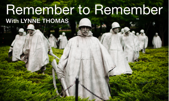 Remember to Remember – with Lynne Thomas